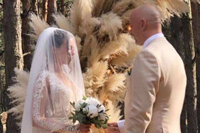 Свадьба Потапа и Каменских: первые фото долгожданного праздника