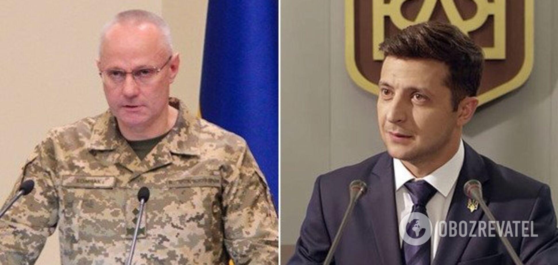 Зеленський прокоментував призначення Хомчака