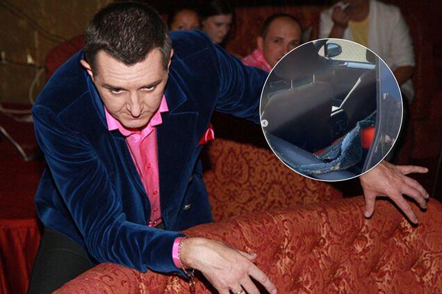 """""""Вот нах*ра?!"""" В Киеве разромили машину известного комика"""