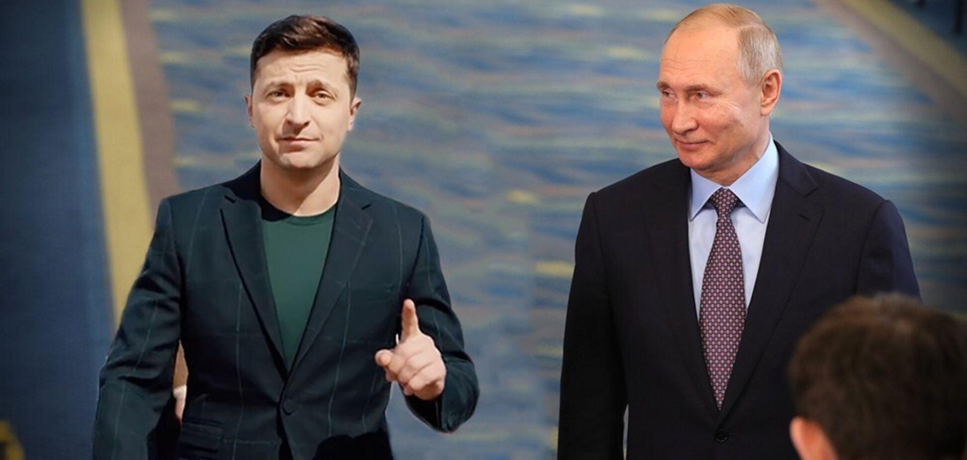 Стане ще гірше? В Росії спрогнозували політику Зеленського щодо Путіна
