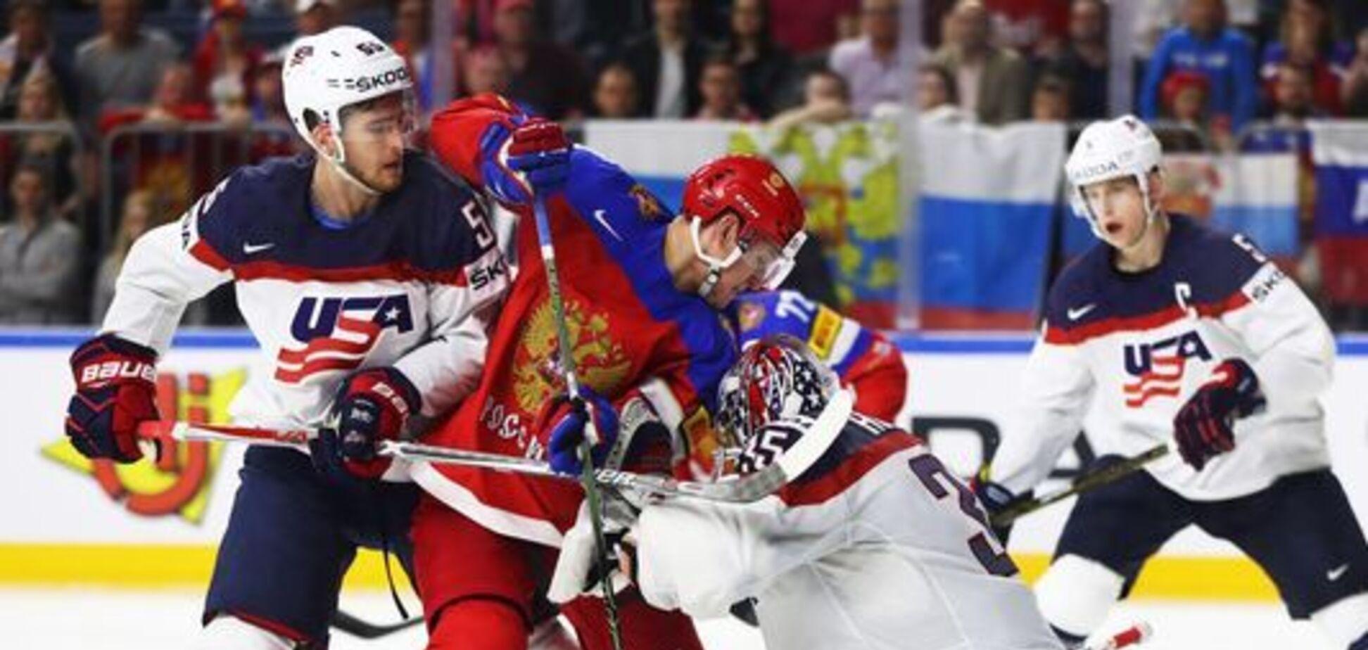 Росія – США: рахунок і результат матчу 1/4 фіналу чемпіонату світу з хокею