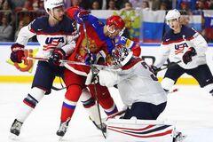 Россия – США: счет и результат матча 1/4 финала чемпионата мира по хоккею