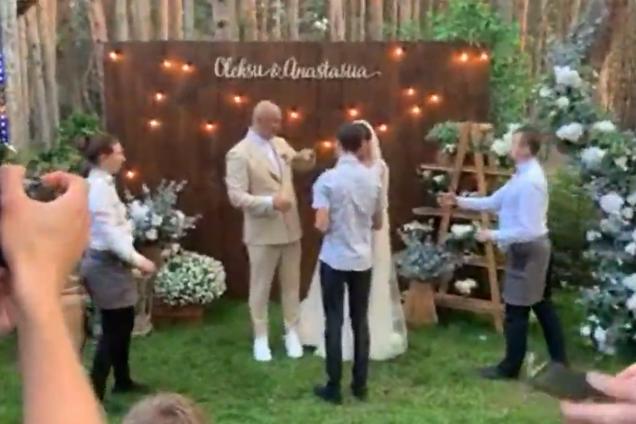 Свадьба Каменских и Потапа: появилась онлайн-трансляция торжества