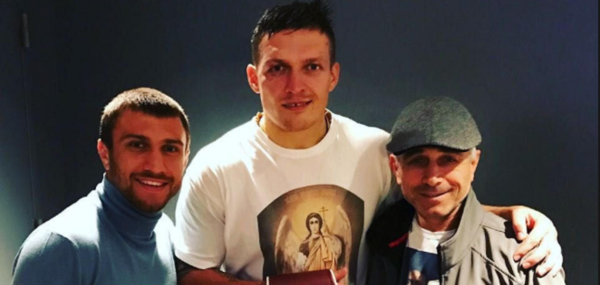 Ломаченко отказался от денег Усика