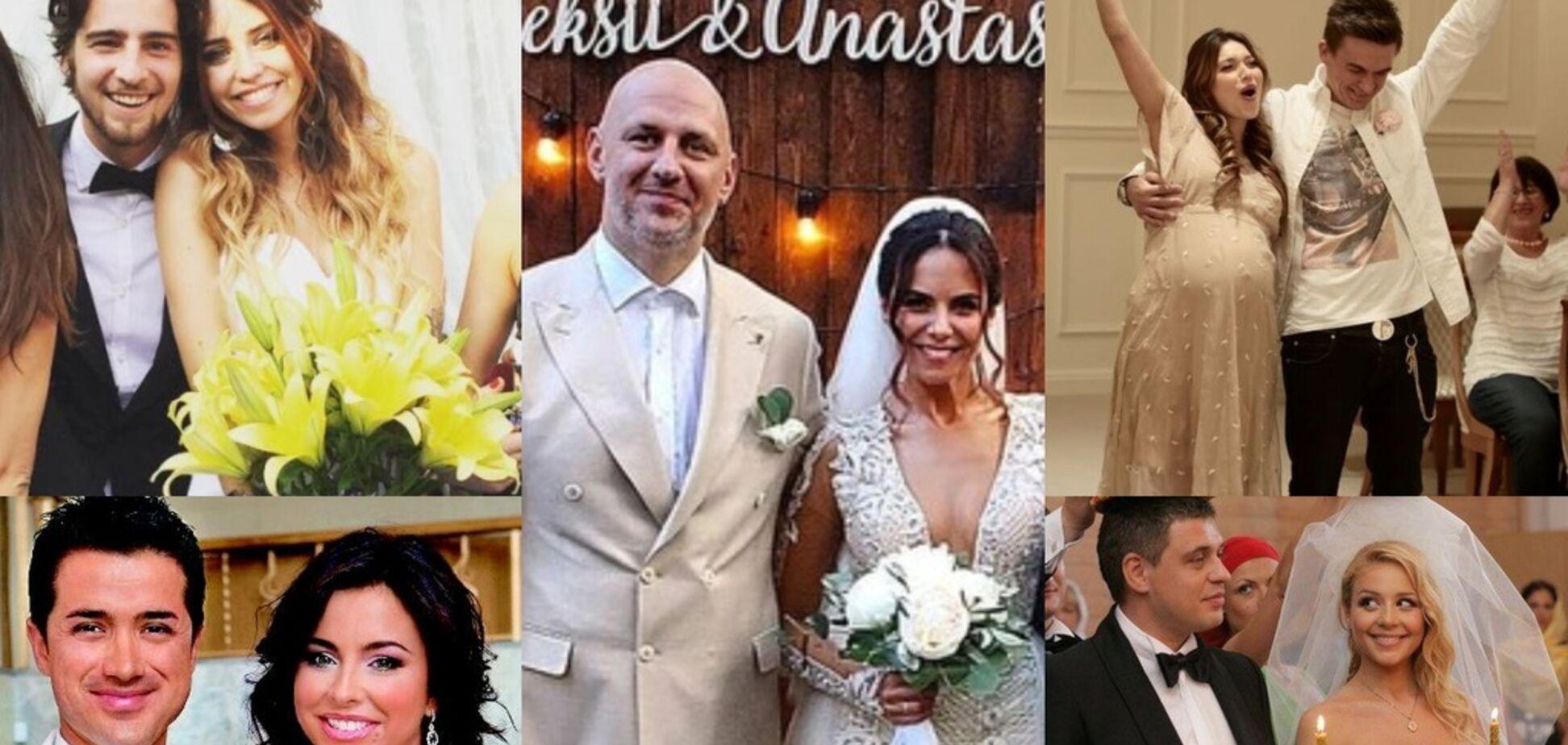 Наречені на мільйон: добірка найкращих весільних суконь українських зірок