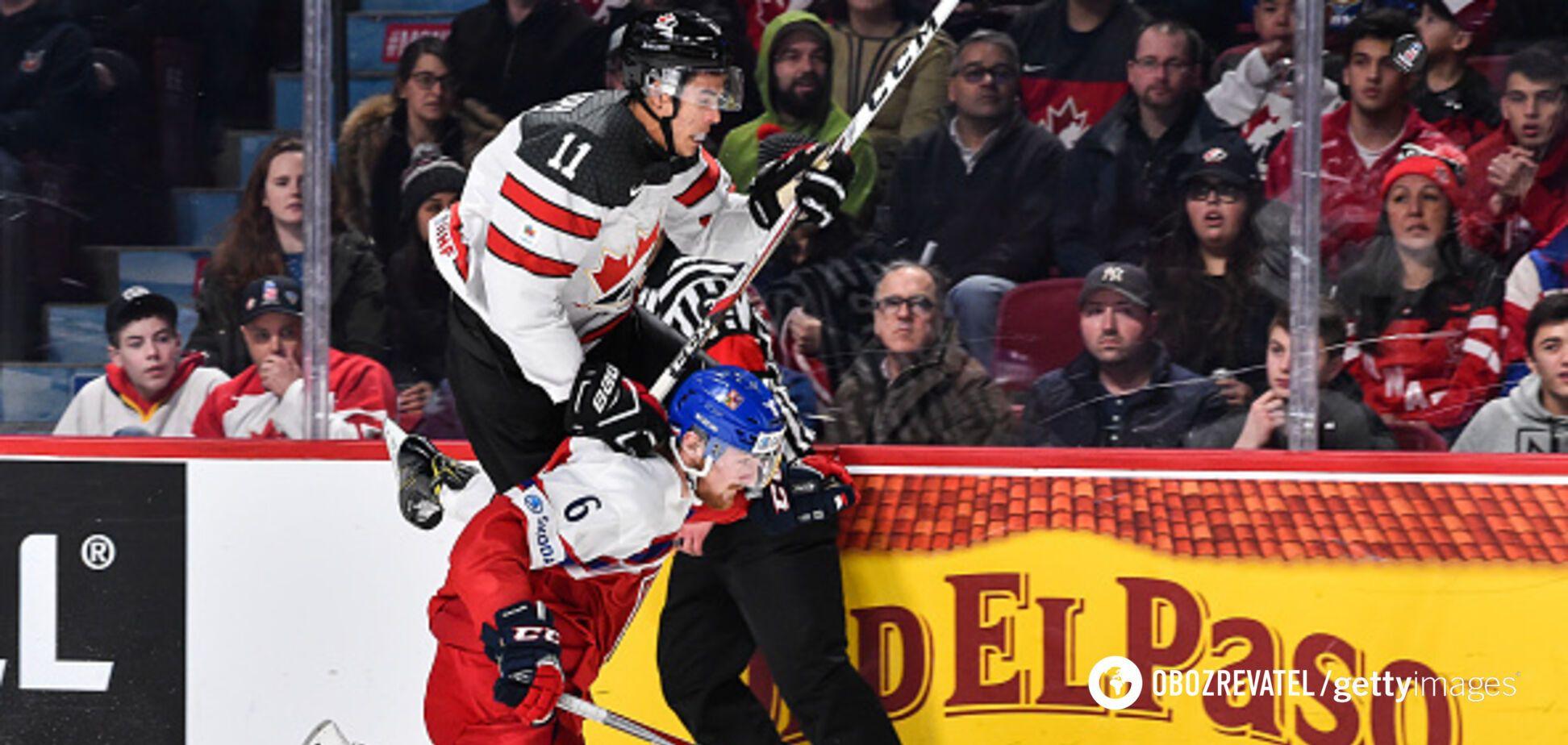 Де дивитися онлайн хокей Канада – Чехія: розклад трансляцій 1/2 фіналу чемпіонату світу
