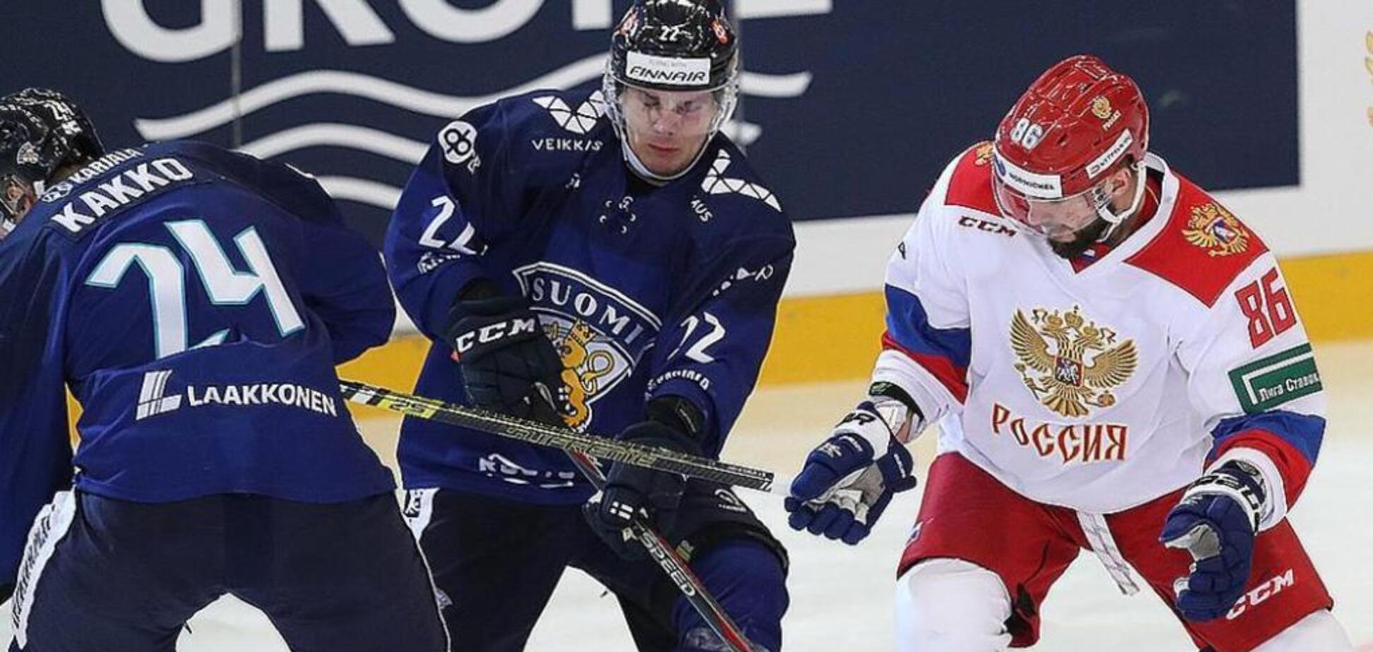 Де дивитися онлайн хокей Росія – Фінляндія: розклад трансляцій 1/2 фіналу чемпіонату світу