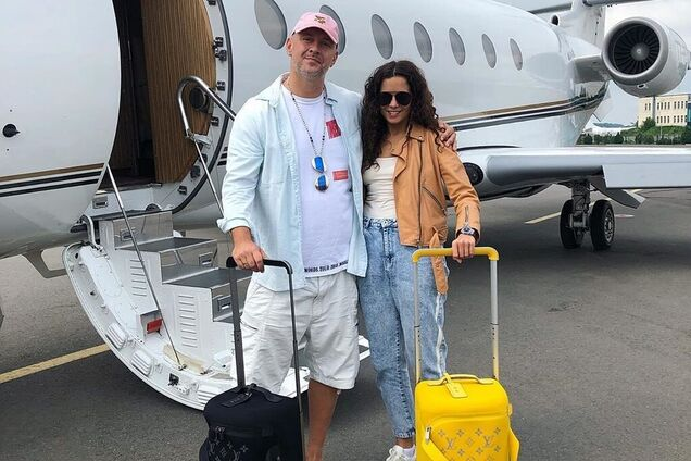 Каменских и Потап отправились в медовый месяц: появились первые фото и видео