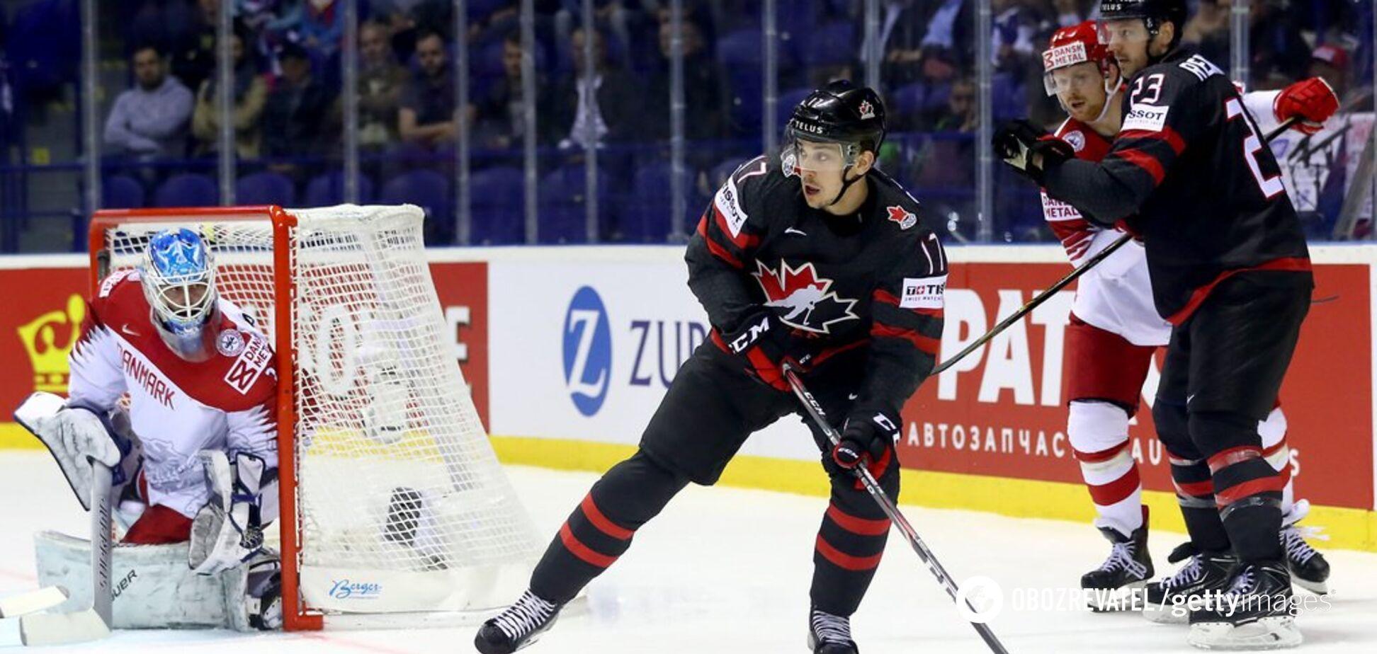 Канада - Чехія: рахунок 1/2 фіналу хокею на чемпіонаті світу