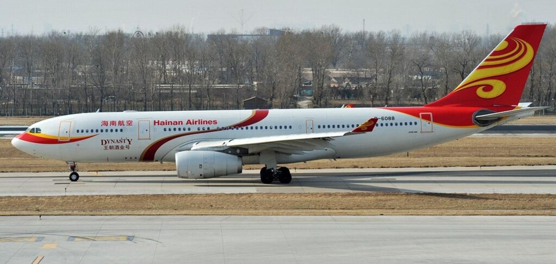 Літак Hainan Airlines