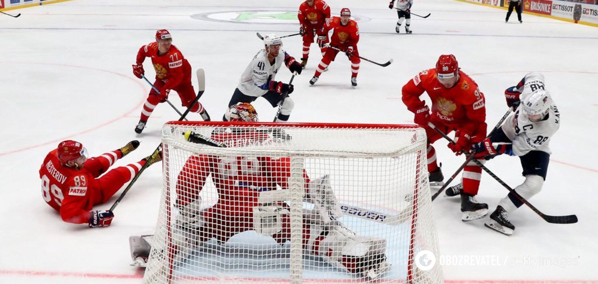Росія - Чехія: де дивитися матч за третє місце чемпіонату світу з хокею: розклад трансляцій