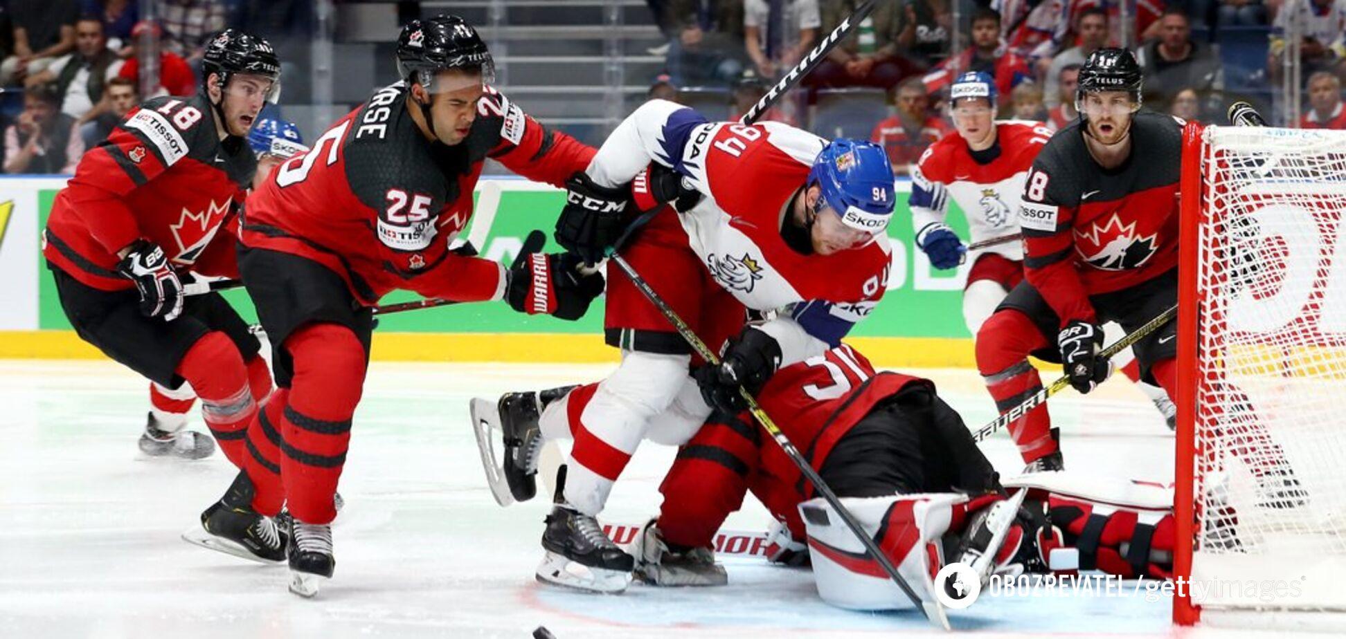 Де дивитися онлайн фінал чемпіонату світу з хокею Канада – Фінляндія: розклад трансляцій
