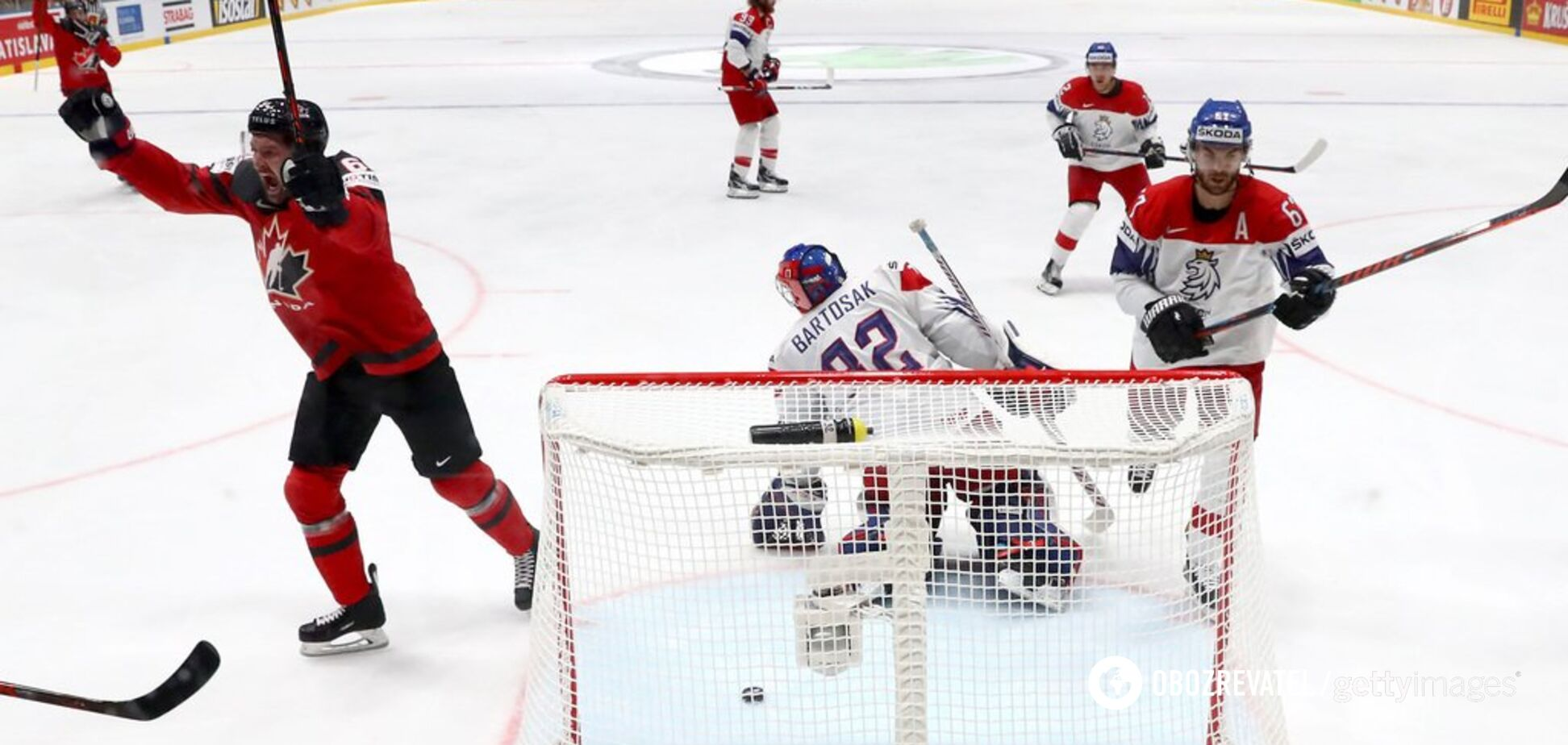 Канада – Фінляндія: рахунок фіналу чемпіонату світу з хокею