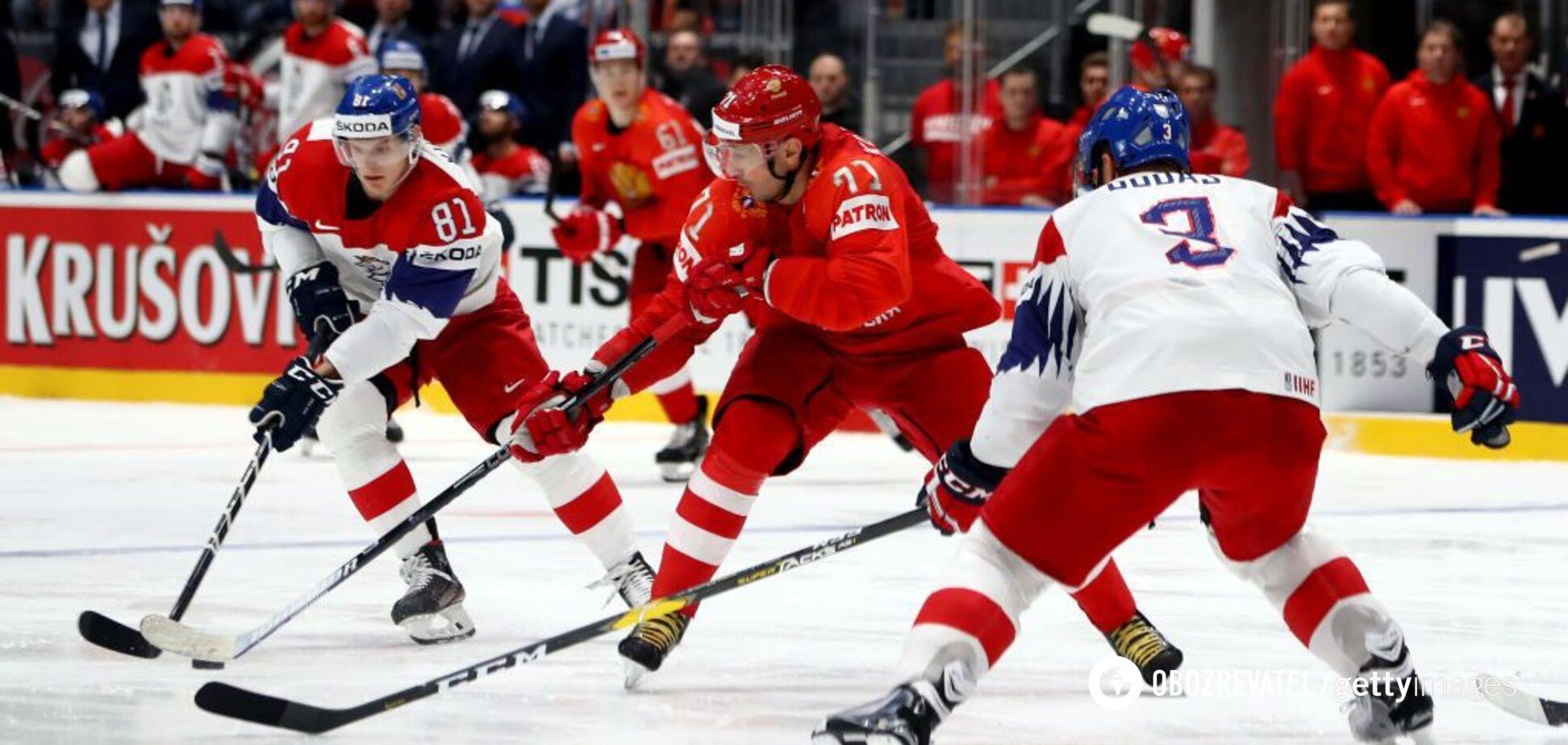 Росія з великими труднощами здобула 'бронзу' чемпіонату світу з хокею