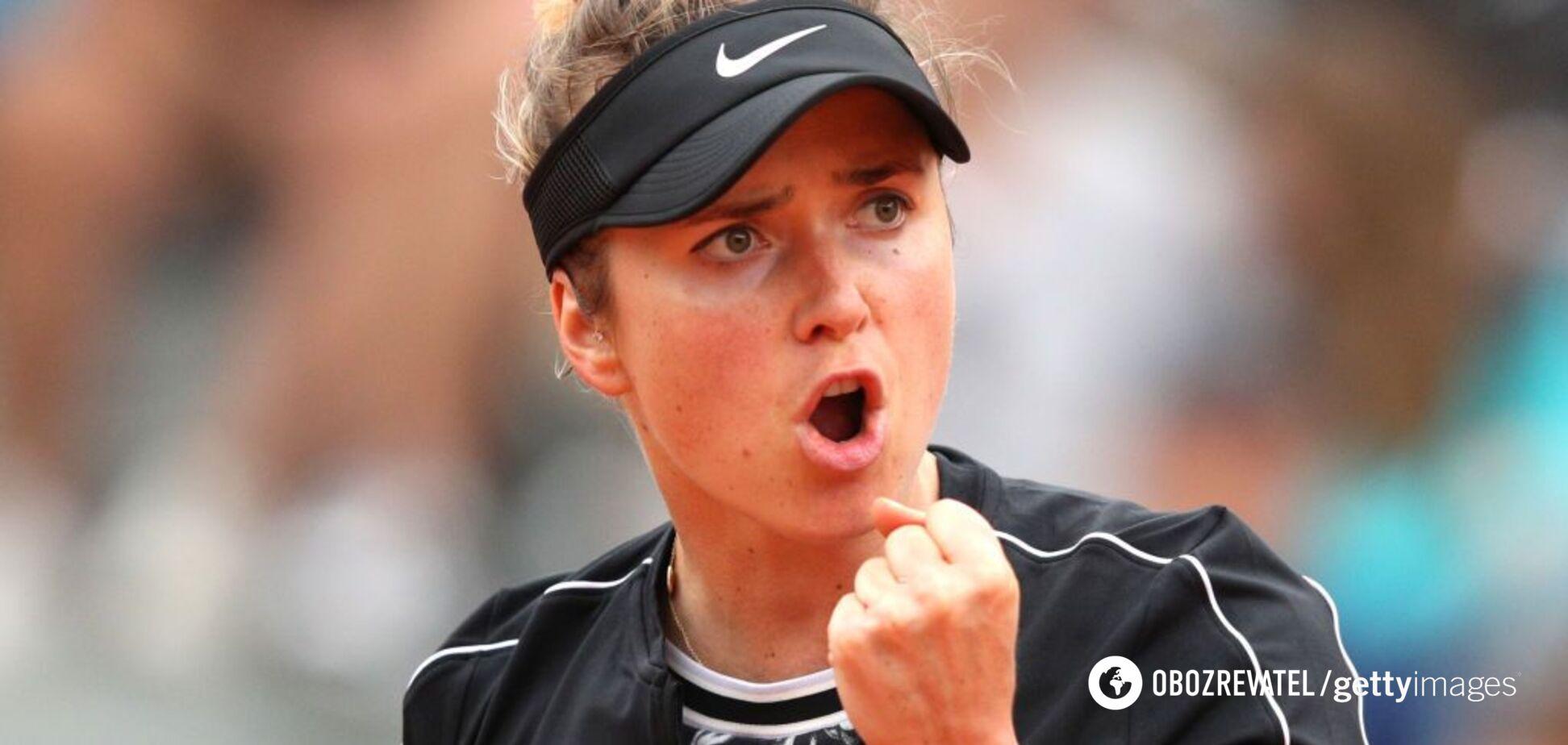 Світоліна на Roland Garros ефектно розбила 7-кратну чемпіонку Великого Шолома