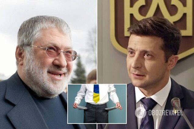 Коломойский призвал Зеленского объявить дефолт