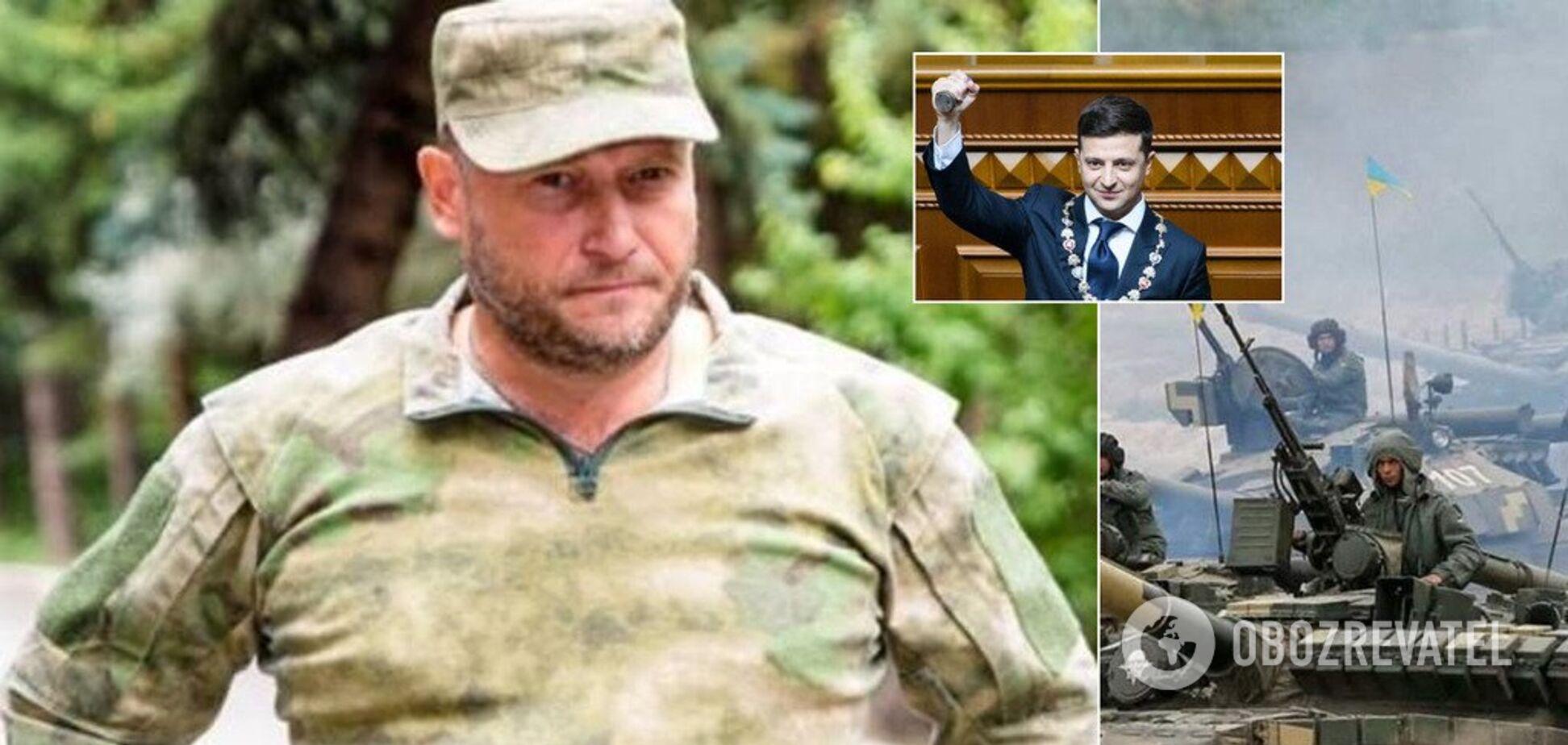 Ярош: якщо Зеленський зрадить Україну — втратить не посаду, а життя