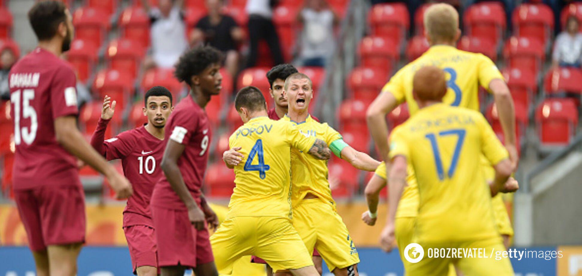 Украина досрочно вышла в плей-офф чемпионата мира по футболу U-20