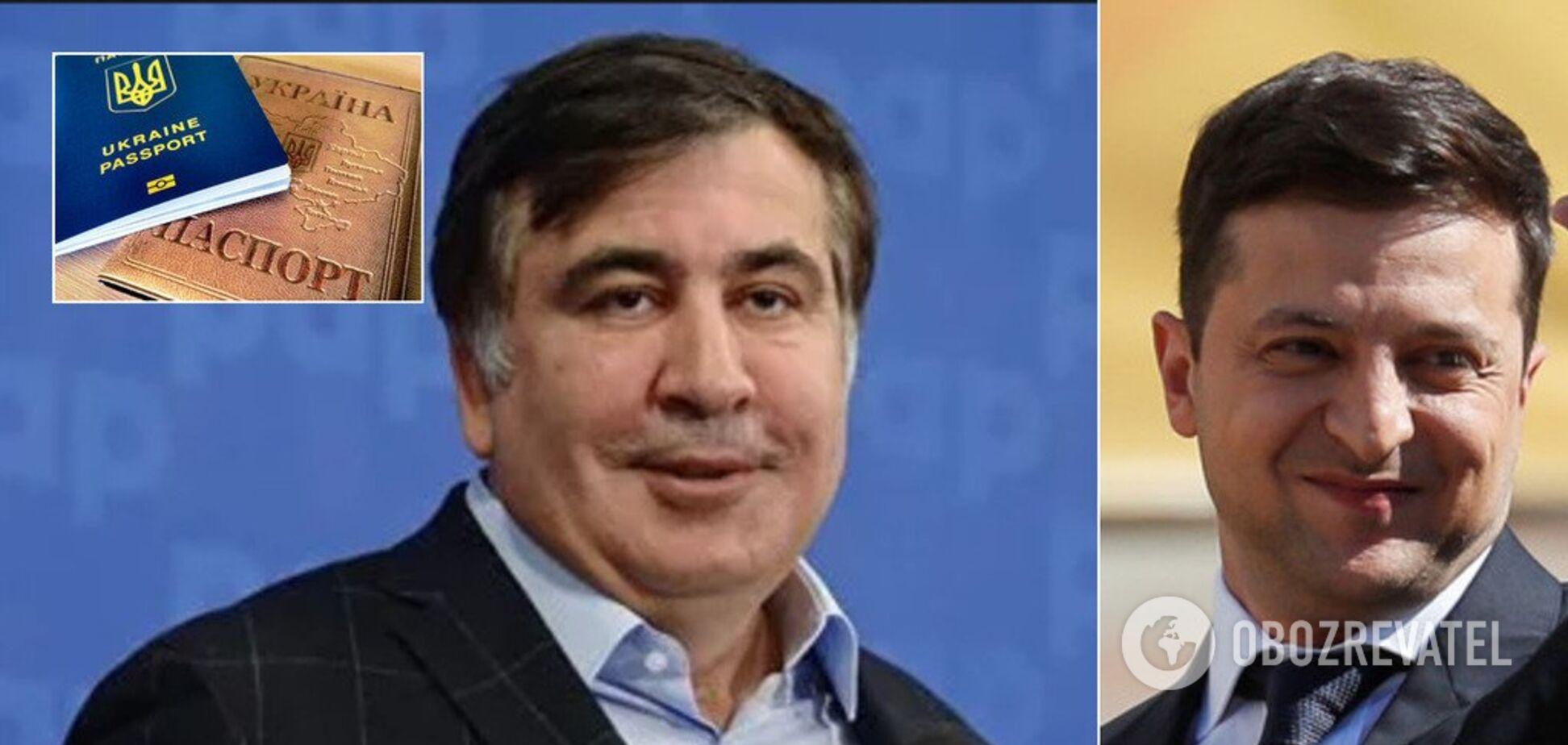 Виконав вимогу Путіна: Зеленський повернув громадянство одіозному Саакашвілі