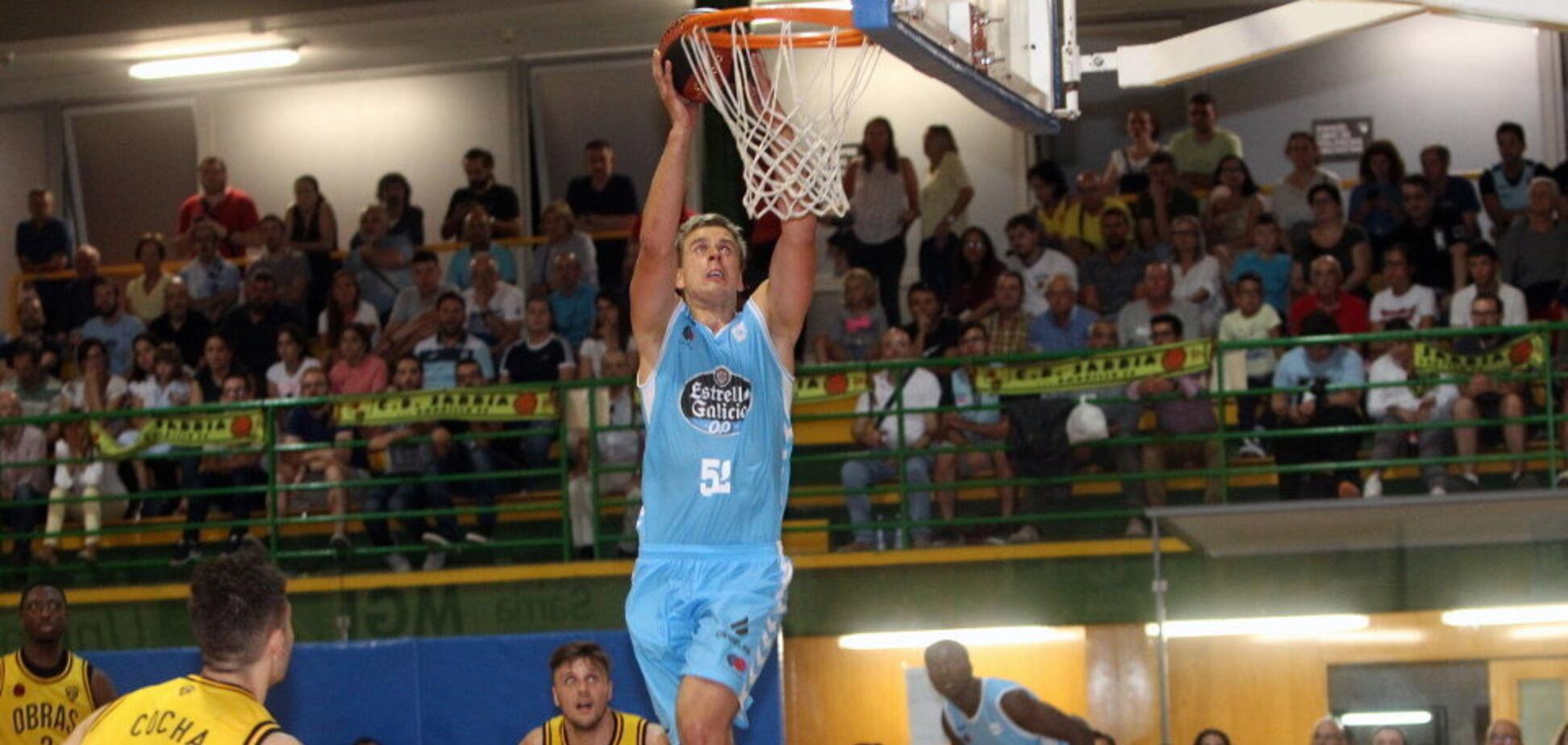 Украинец вошел в пятерку лучших баскетболистов чемпионата Испании