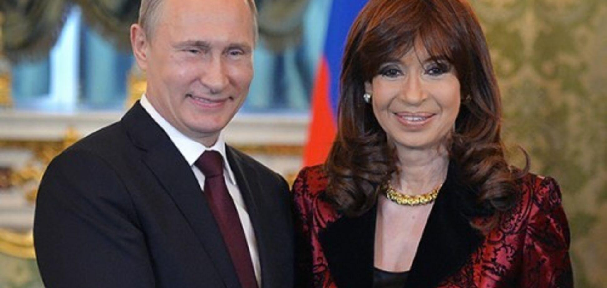 Окружение Путина скупает ворованное по всему миру?