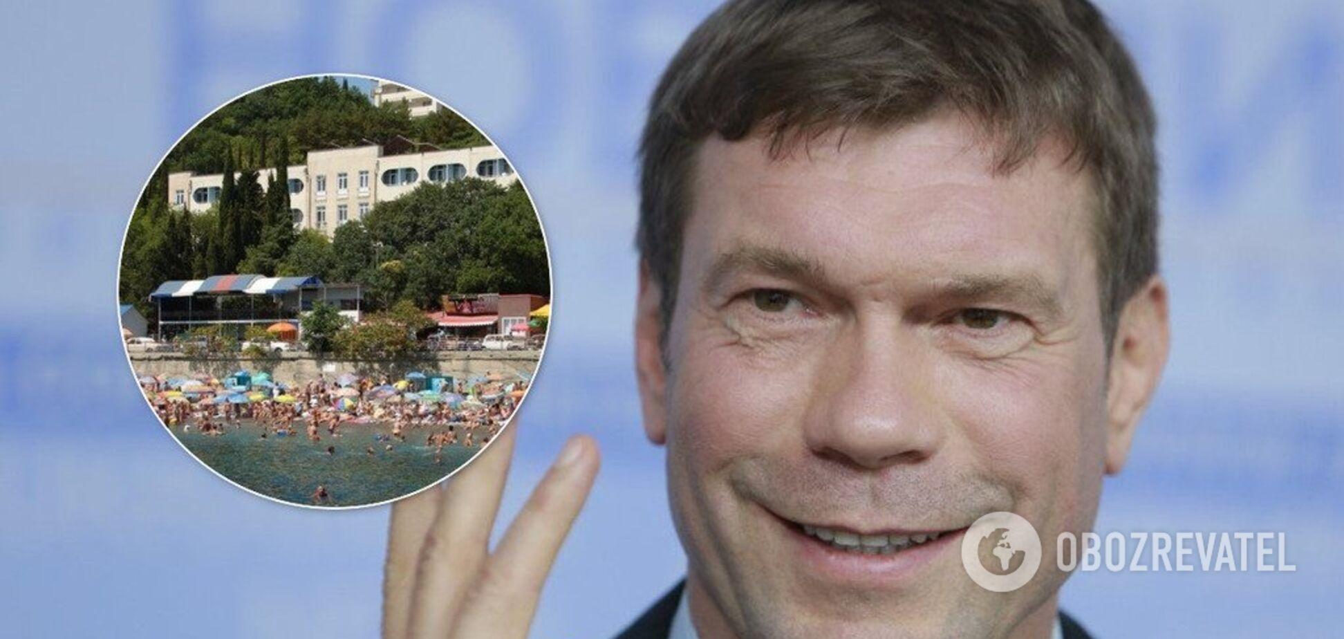 Скандальный Царев за 'копейки' отжал санатории в Крыму