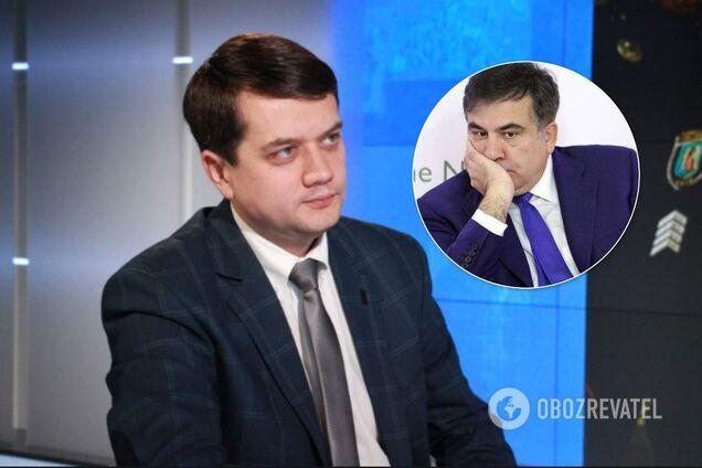 """В """"Слуге народа"""" отказались принять Саакашвили"""