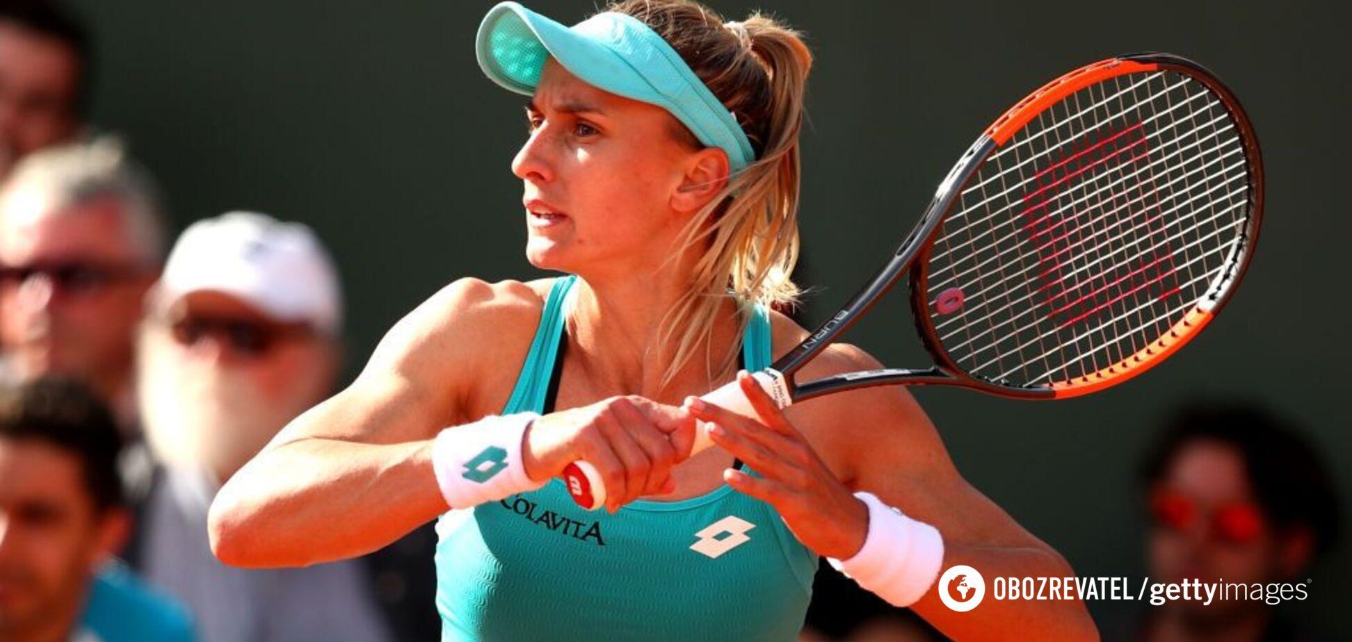 Цуренко з розгромної перемоги стартувала на Roland Garros