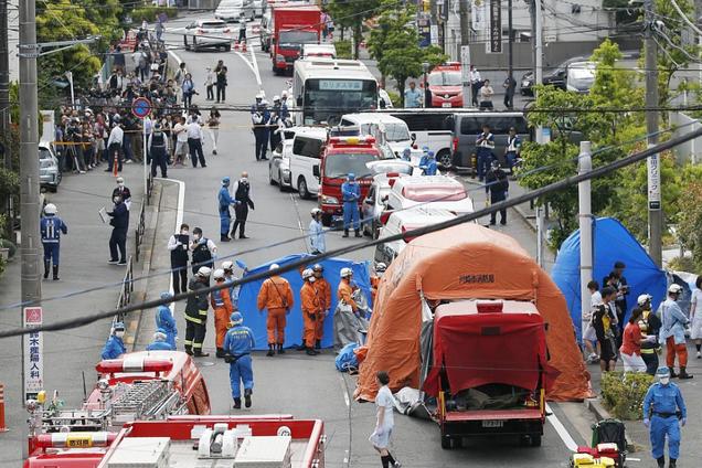 В Японии на улице зверски изрезали школьников
