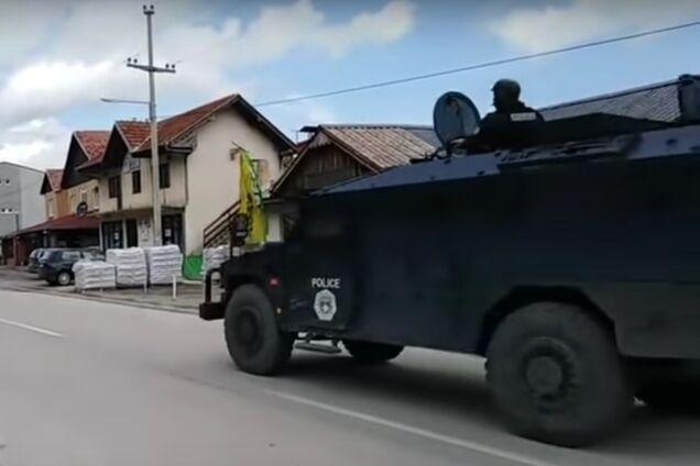 Спецназ Косово, скриншот с видео