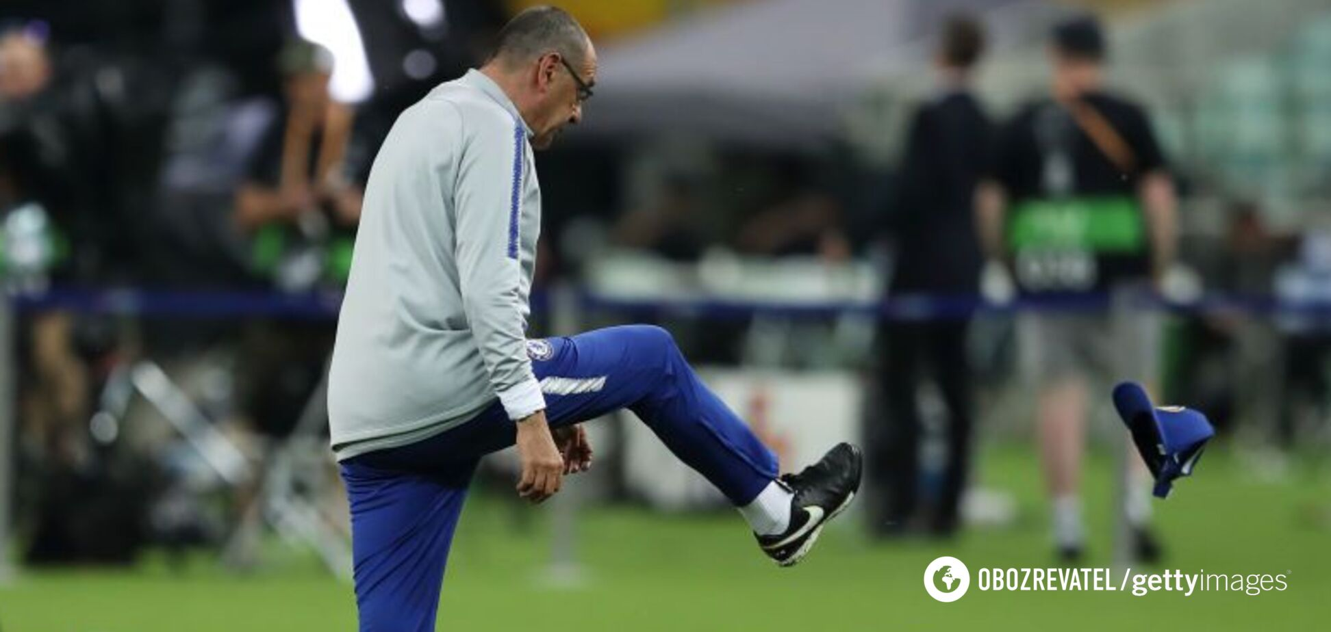 Финал Лиги Европы: тренер 'Челси' взбесился на тренировке – скандальное видео