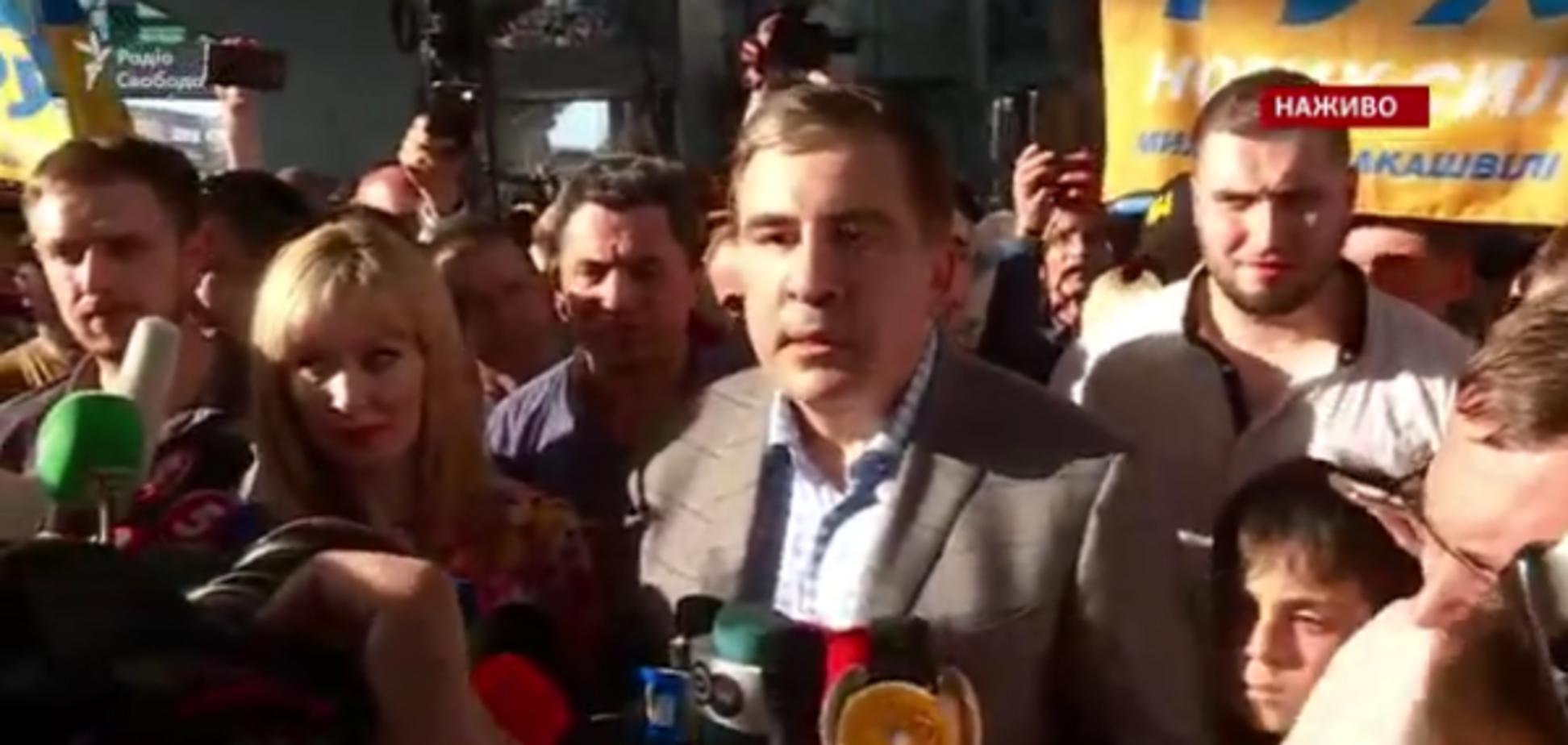 Саакашвілі повернувся в Україну: всі подробиці, фото і відео