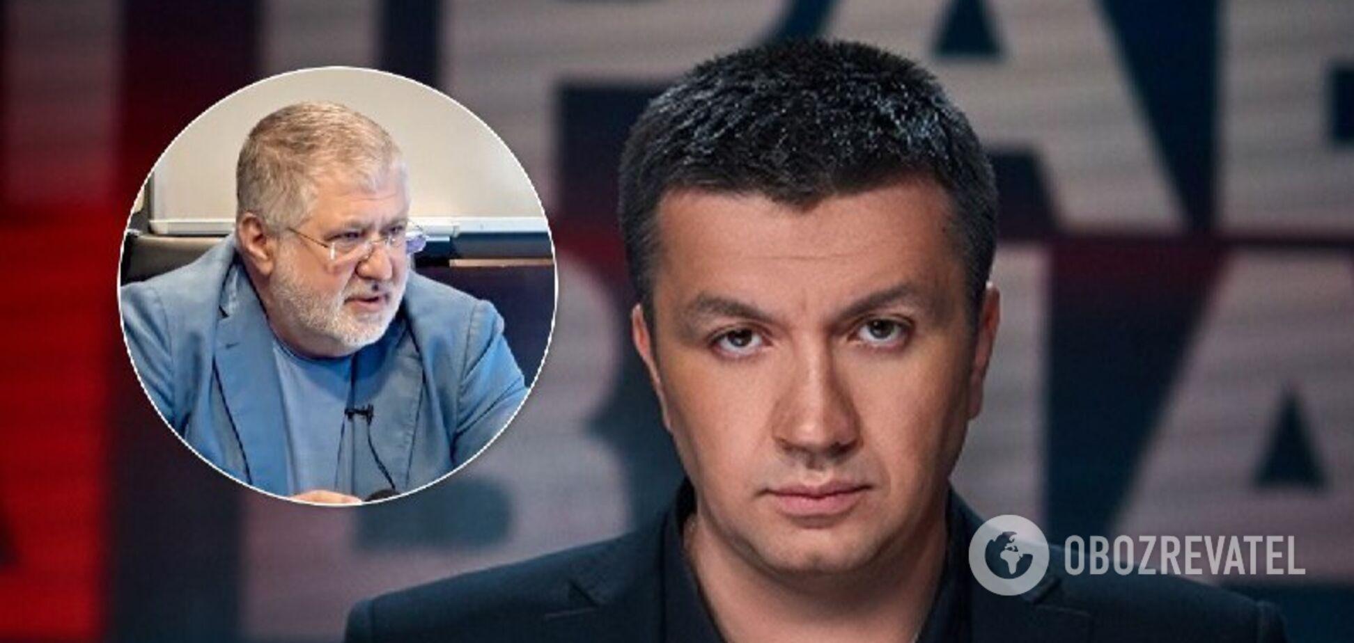 Ведучий '1+1' розкритикував Коломойського за слова про 'громадянську війну'