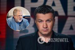 Ведущий '1+1' раскритиковал Коломойского за слова о 'гражданской войне'