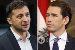 Зеленський зв'язався з канцлером Австрії: про що домовилися