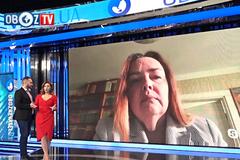 У Украины тем для разговоров с Россией нет, в том числе ''общих'': российская оппозиционерка