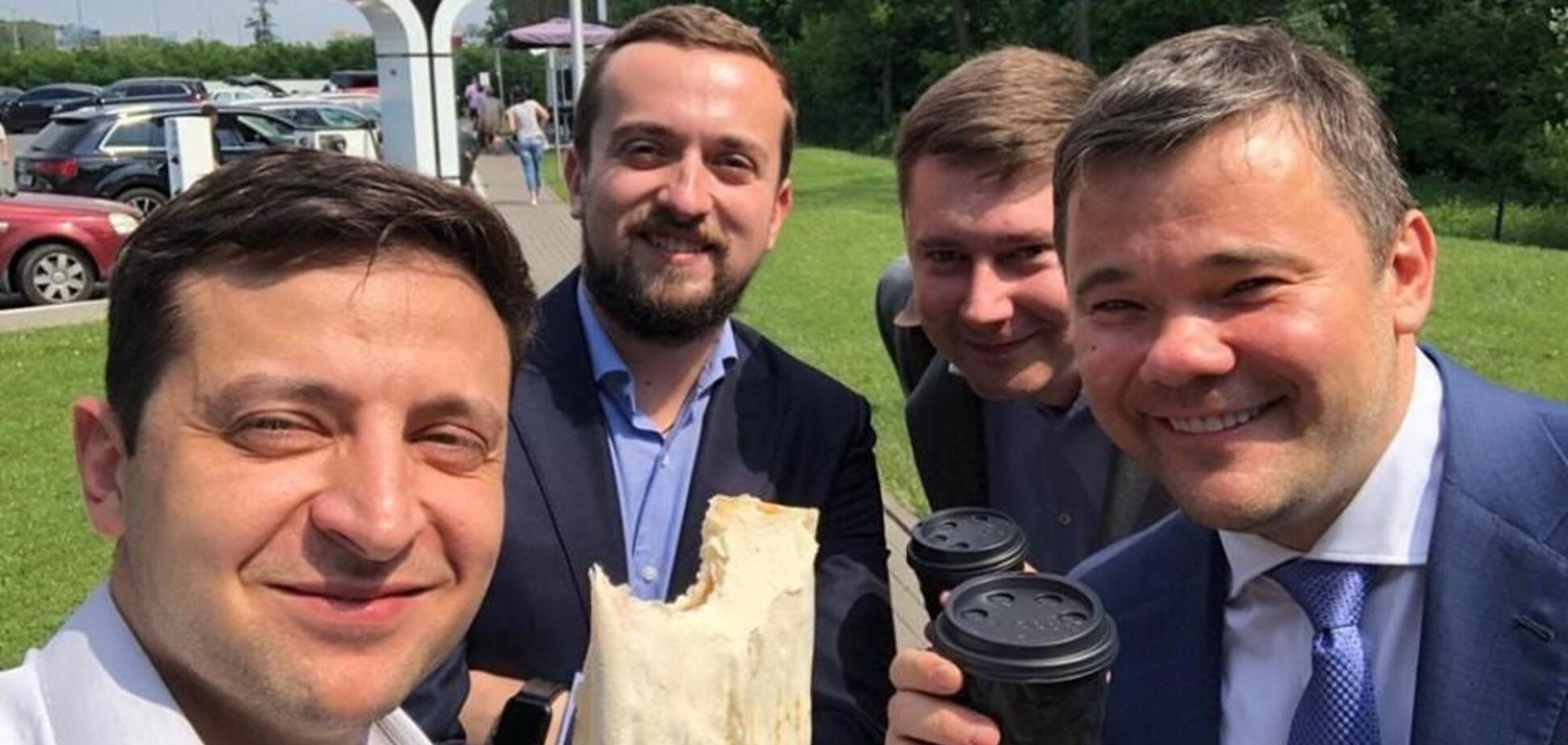 Зеленского в сети упрекнули шаурмой: о чем речь