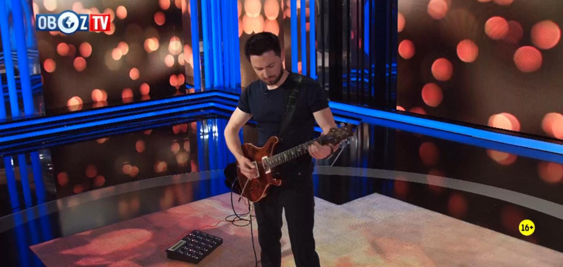 Гость ObozTV – гитарист-виртуоз Орест Галицкий