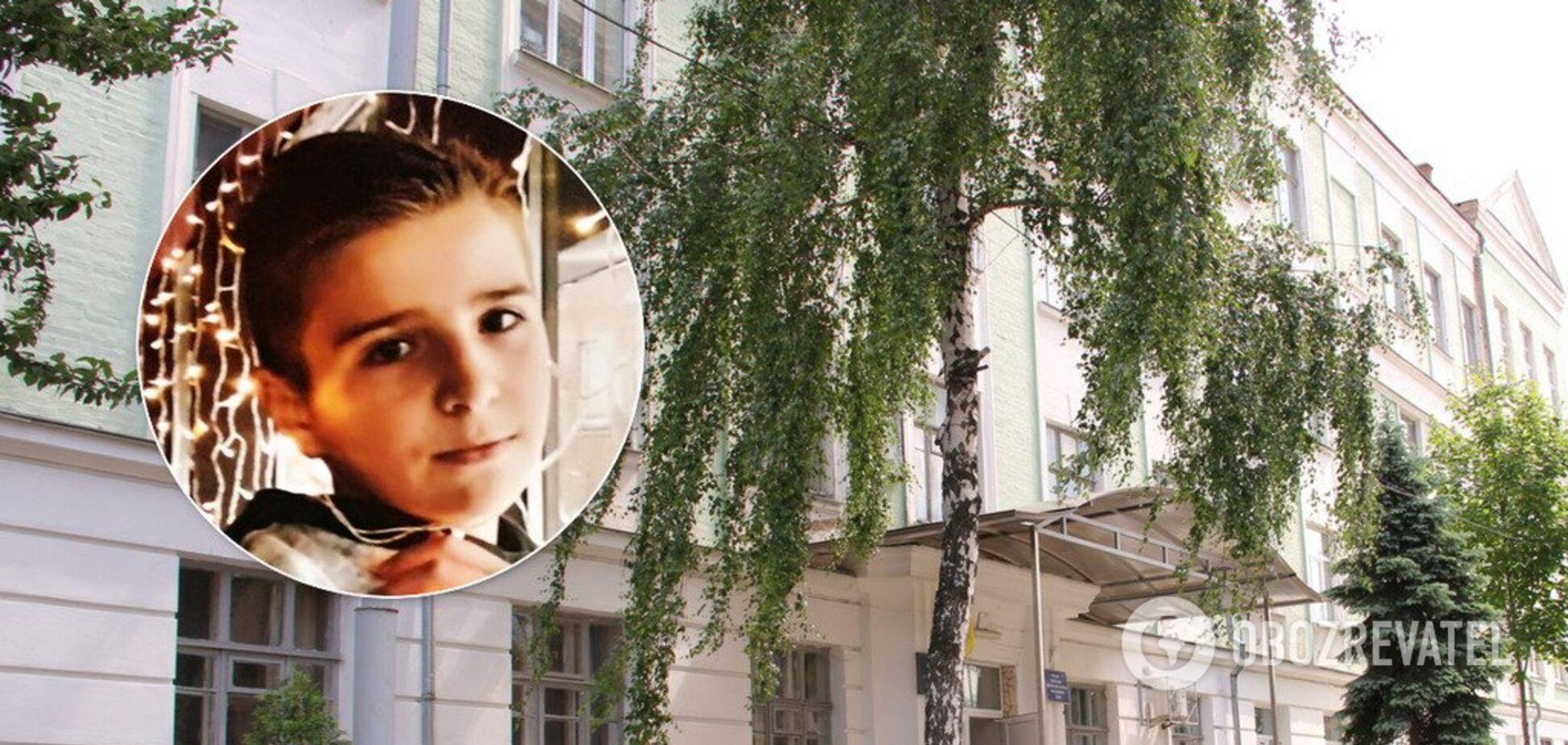 Был 'плохим ребенком': школа Киева попала в скандал из-за фото погибшего ученика
