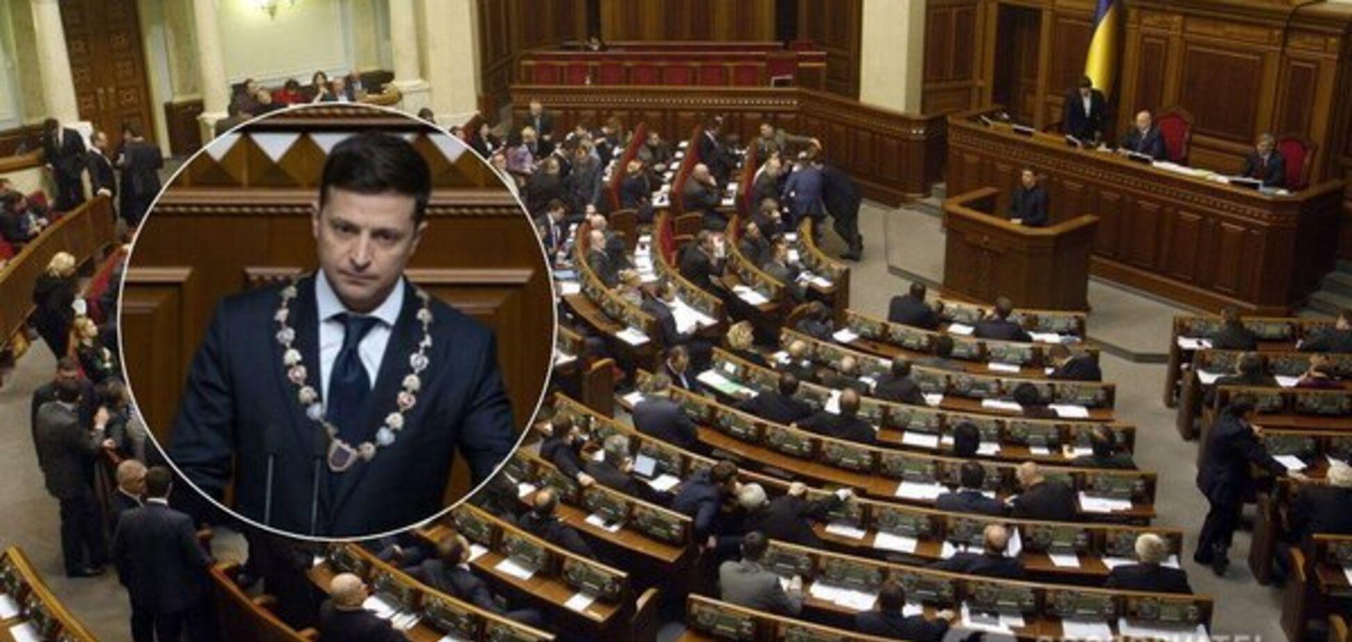 Скандал із розпуском Ради: опублікована стенограма закритої зустрічі Зеленського з главами фракцій
