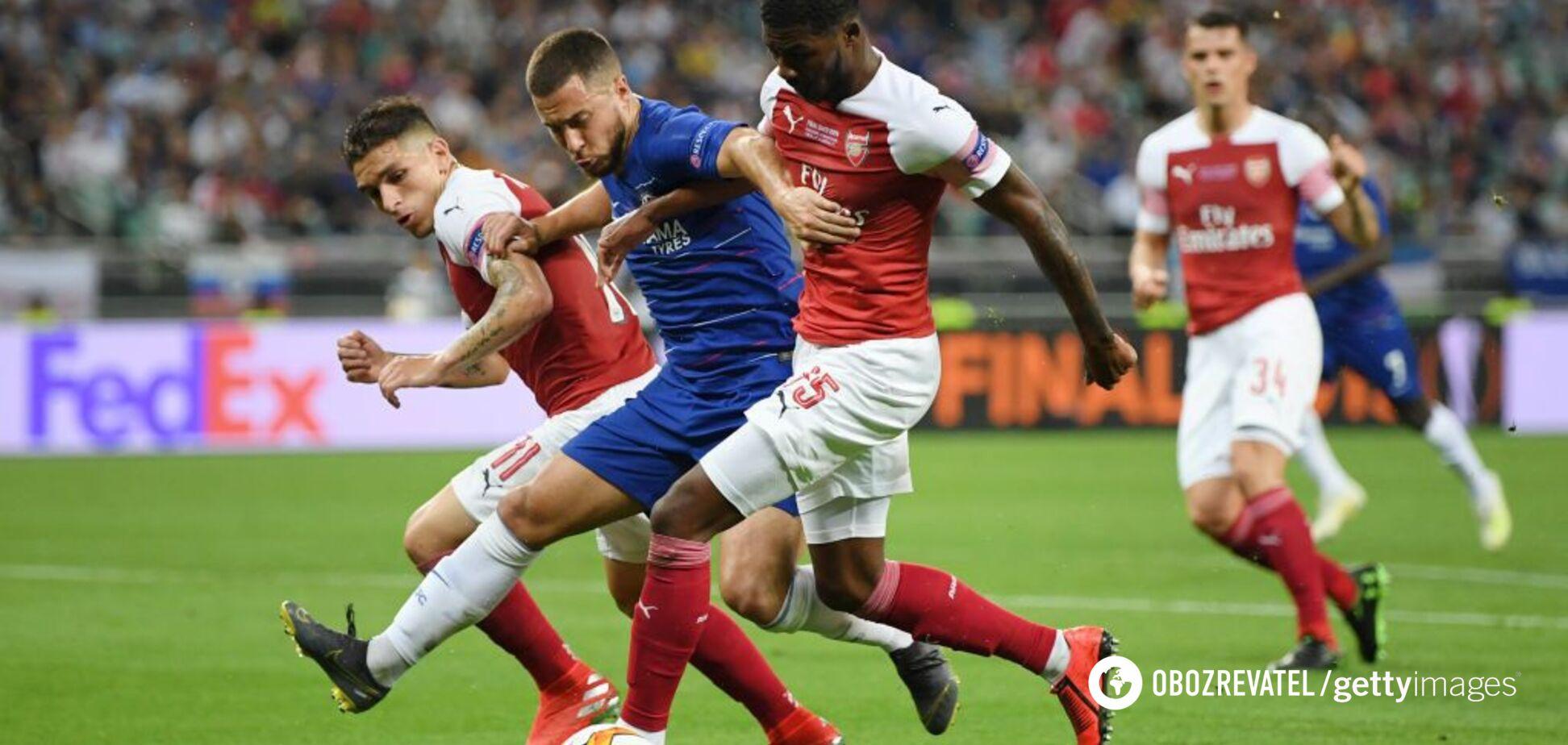 Челси — Арсенал: видео голов финала Лиги Европы