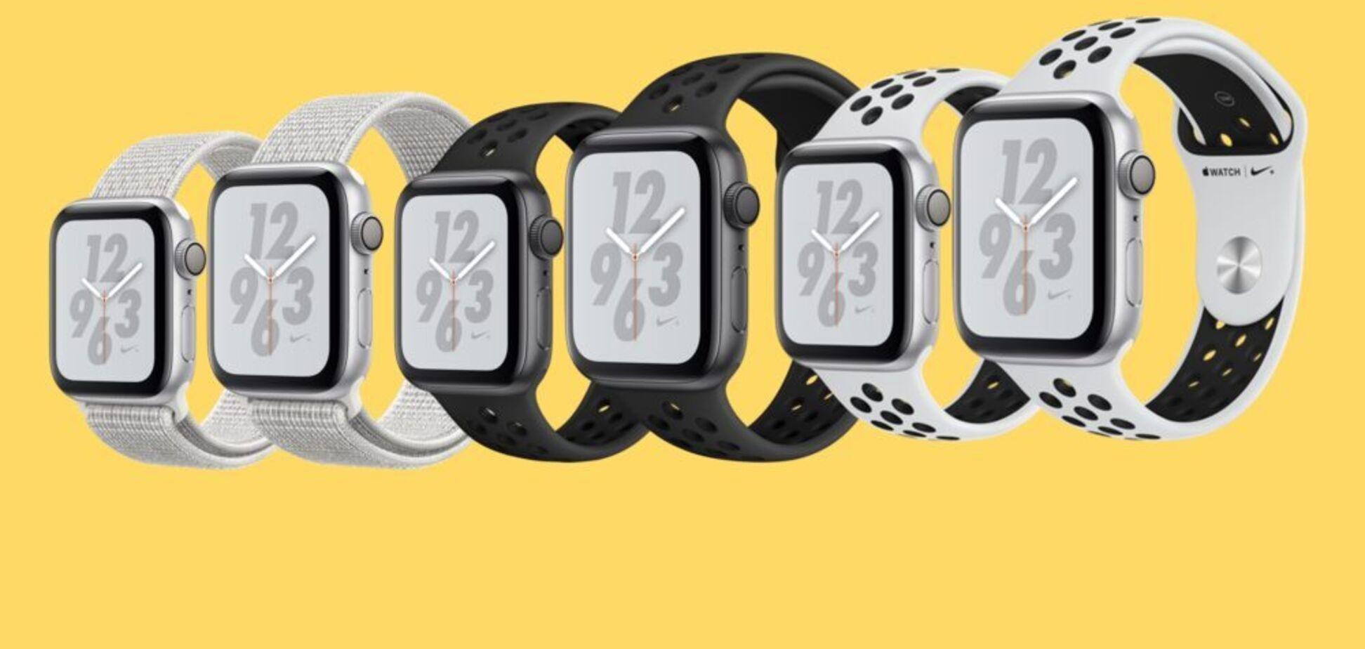 Новий ідеальний партнер для бігу: стартує офіційний продаж Apple Watch Nike+ Series 4 в Україні