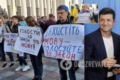 'Это реванш России': как Зеленский и Ко оскандалились с языком