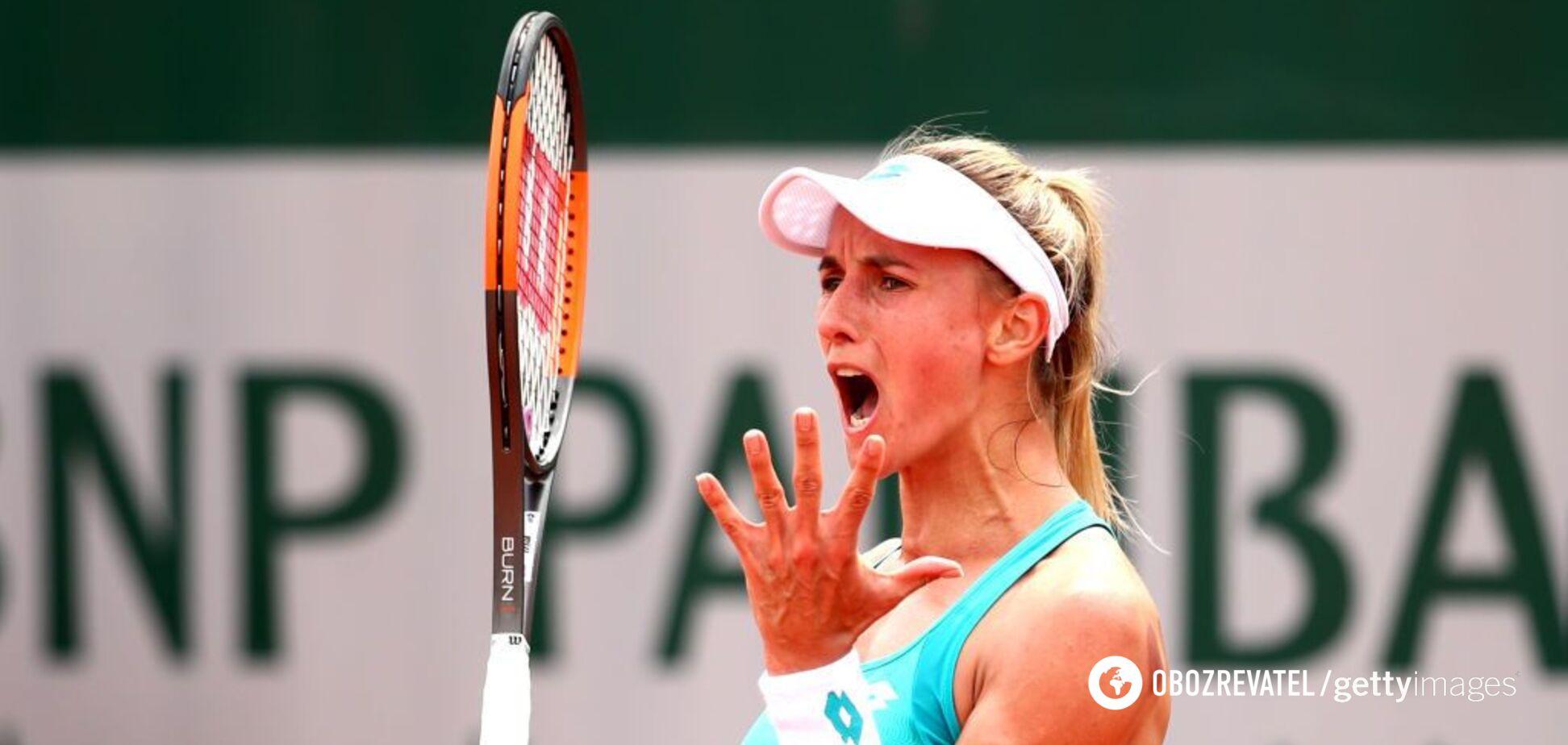 Тривав два дні: українська тенісистка виграла матч-трилер на Roland Garros