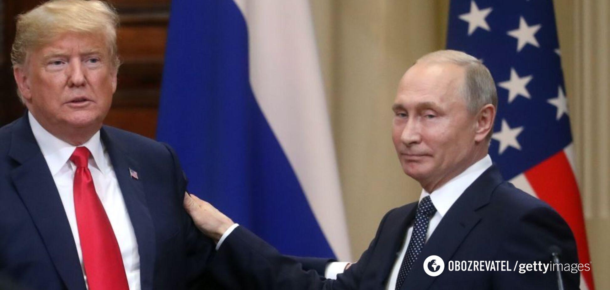 Секретное письмо Путина Трампу в Хельсинки
