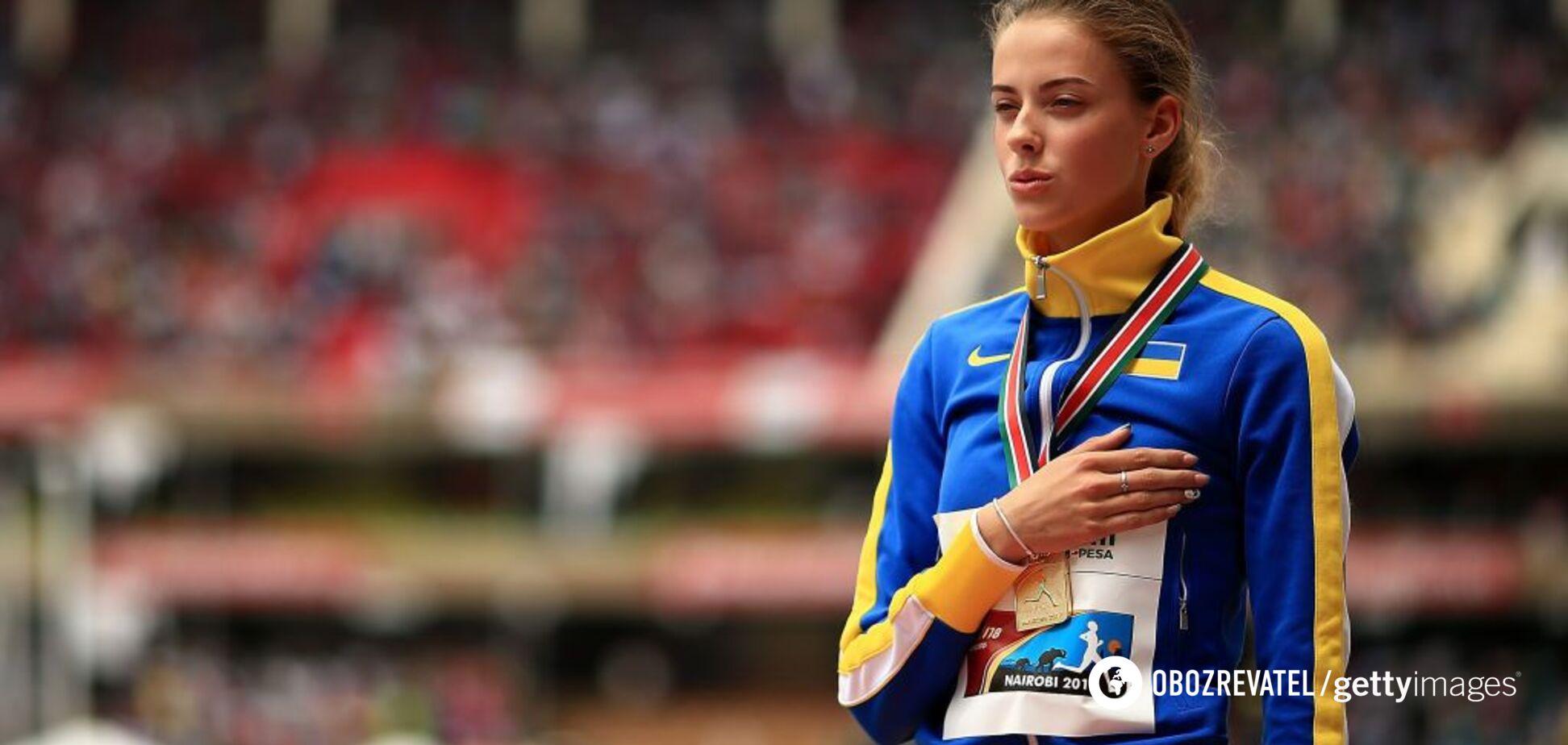 Украинка с рекордом выиграла этап 'Бриллиантовой лиги'
