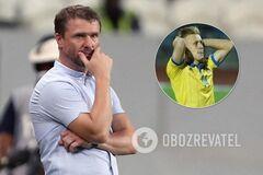 Ребров за зраду вигнав футболіста збірної України