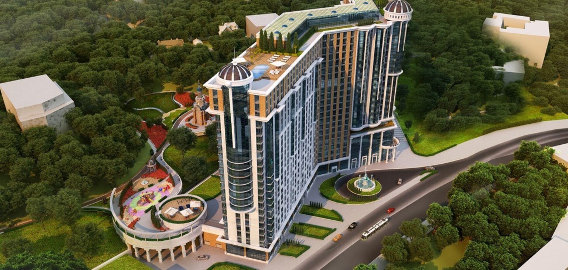 З видами на Дніпро і Поділ: у центрі Києва з'явиться елітний комплекс 'Podil Plaza & Residence'