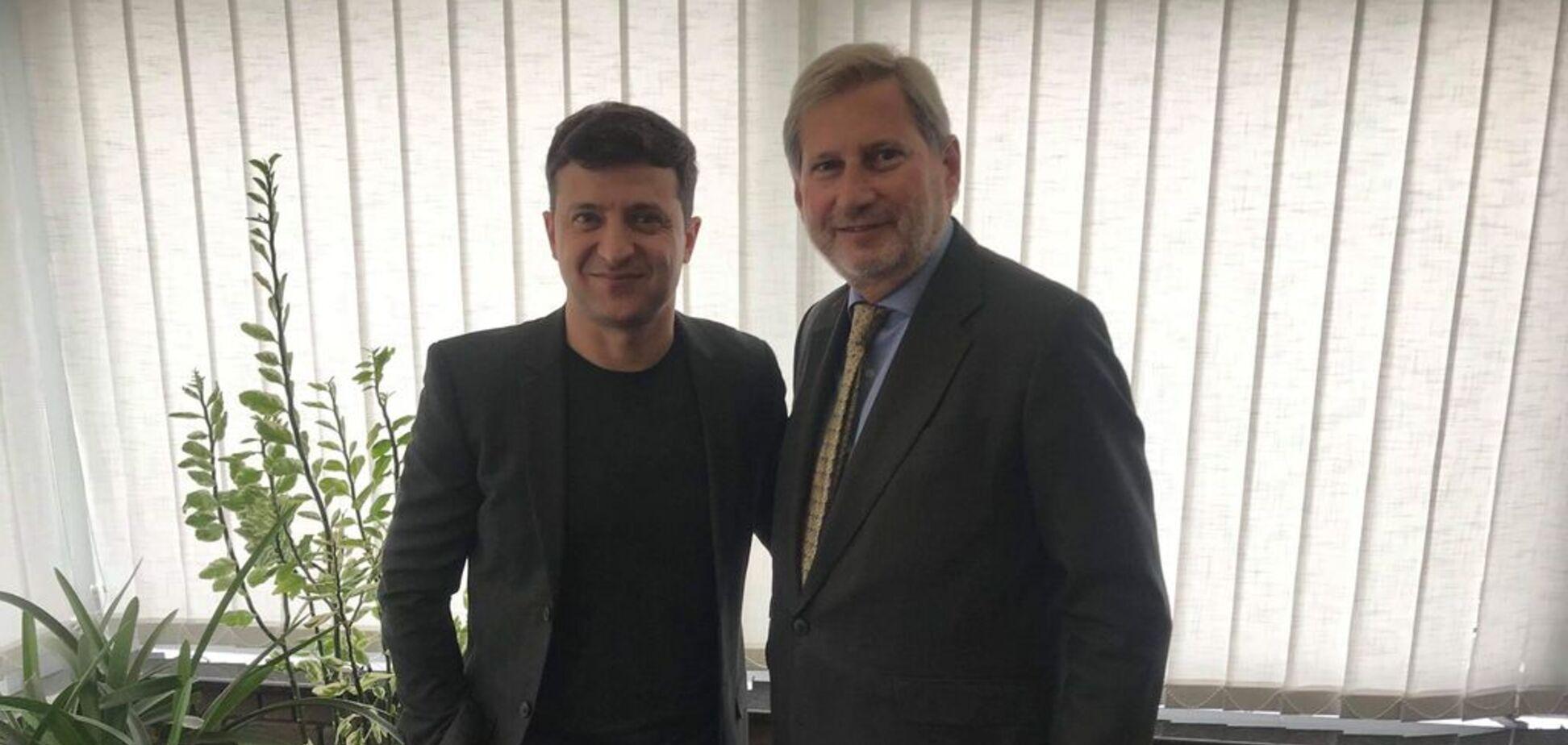 'Впечатляющая победа': Зеленский провел встречу с еврокомиссаром