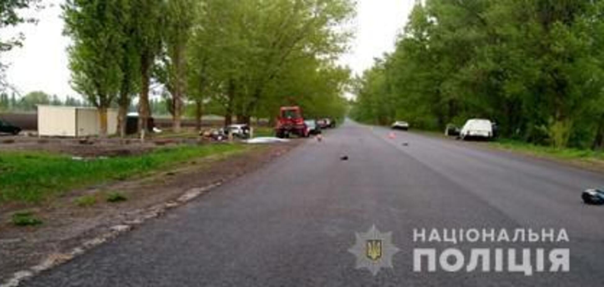 Под Киевом пьяный депутат 'Воли' насмерть сбил участника АТО с отцом: все подробности